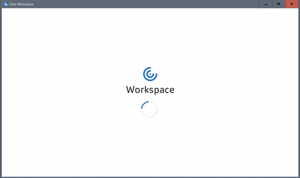 Citrix Workspace MFA logon