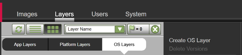 Create OS Layer