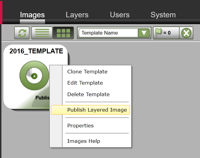 App Layering Image Deployment - Template - Publish Template