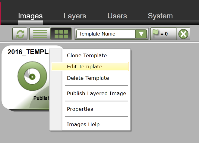 App Layering Image Deployment - Edit template