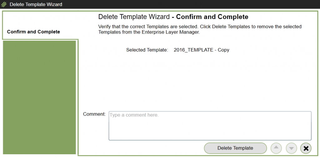 App Layering Image Deployment - Delete Template - Deleted