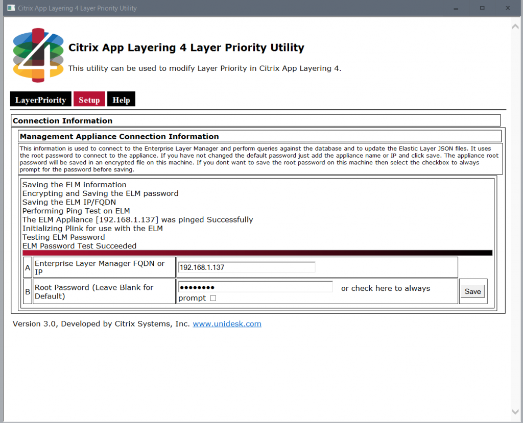 Citrix App Layering Layer Priority Utility