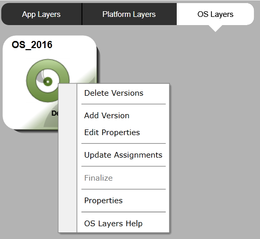 OS Layer - Add version