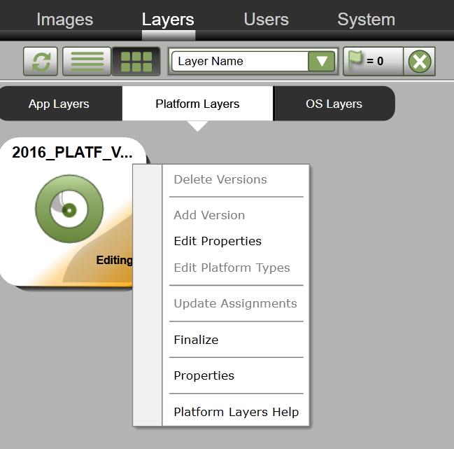 Lab: Part 43 - Platform Layer with Citrix App Layering
