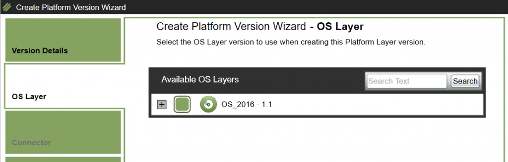 Platform Layer - Add version - OS details