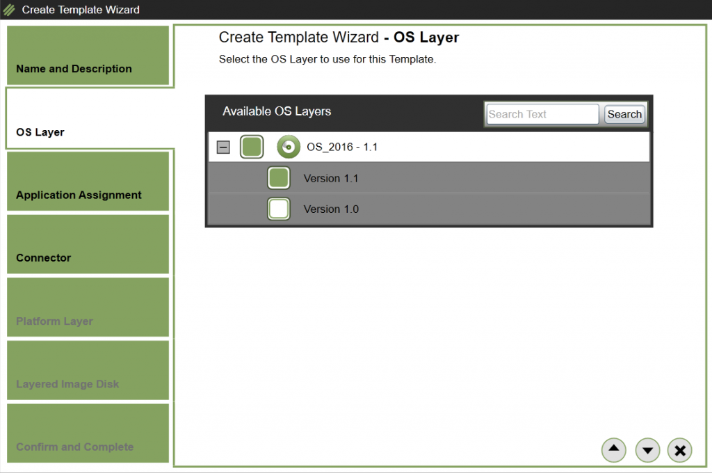 App Layering Image Deployment - Template - OS Layer