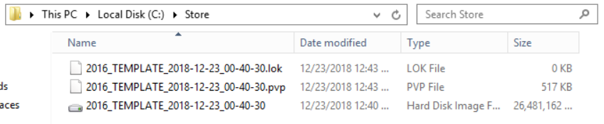 App Layering Image Deployment - Template - PVS Store repository