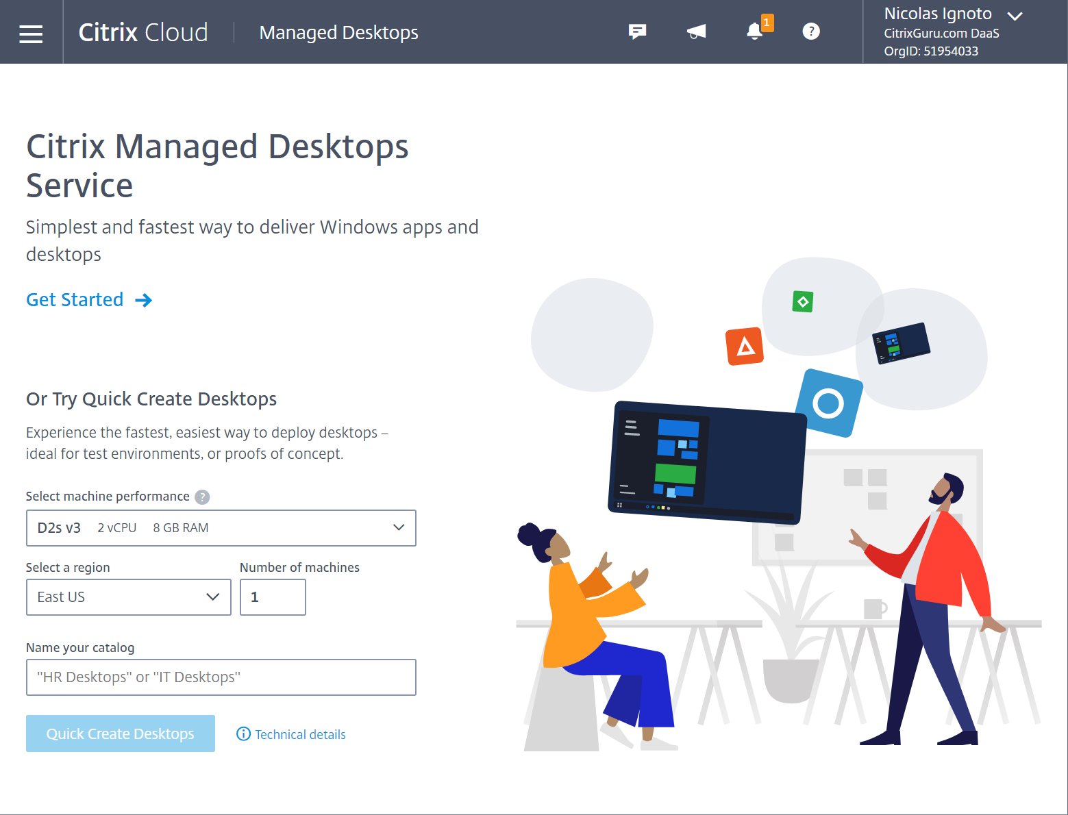 Citrix Managed Desktops Service is a glimpse into the future